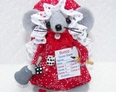 NEW Bunco Mouse..just one of the cute felt mice by Warmth