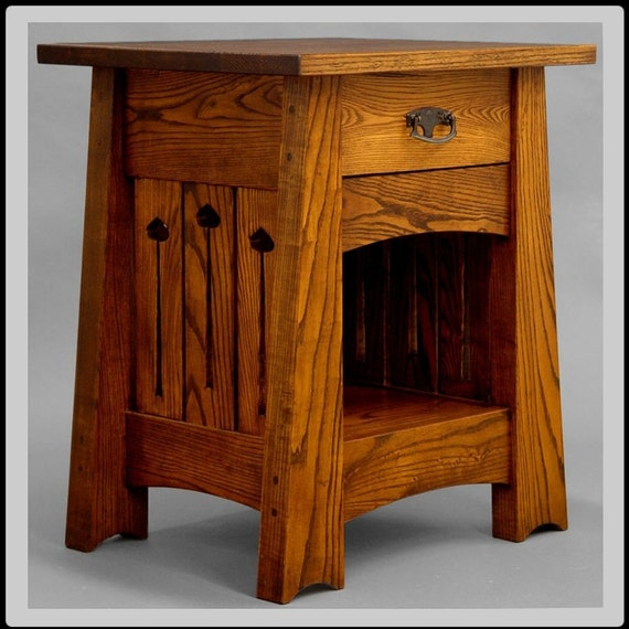 End Table Or Nightstand Arts And Crafts Mission Mackintosh