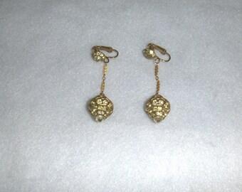 Vintage dangly earrings