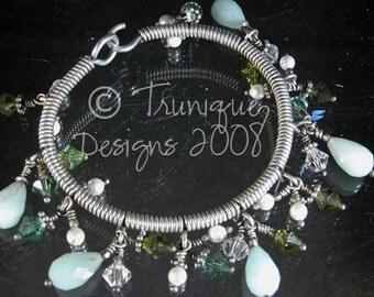 GYPSY DREAMS sterling bangle bracelet