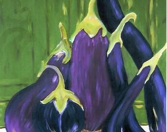Eggplants, Green Door