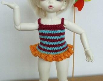 Sale LittleFee 2 Pc Swimsuit Bathing Beauty
