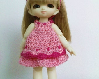Pukipuki/Strawberry Shortcake 3 Pc Outfiy Pink Dots