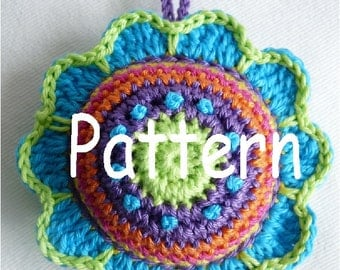 Pattern Pincushion Flower US Terminology
