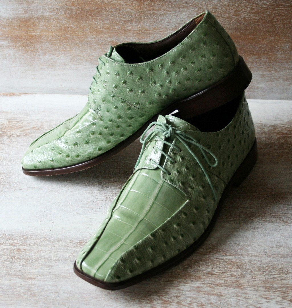 Stacy Adams Mens Shoes Apple Green Size 11 By Tuscanrose