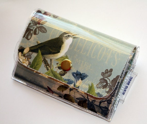 Accordion Wallet Small - Soar Blue Skies