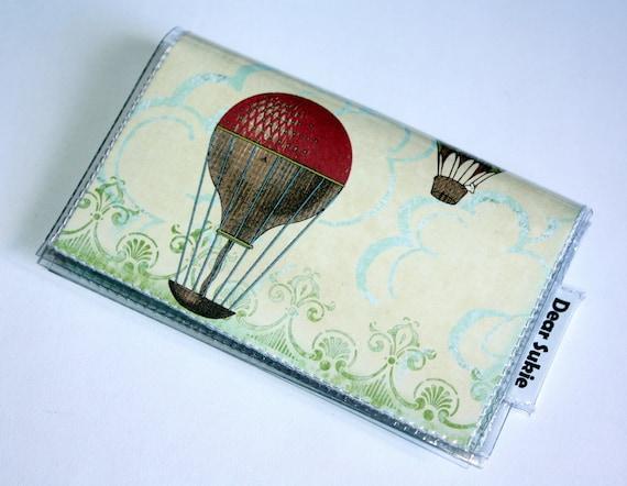 Quick Snap Card Holder - Air Balloons