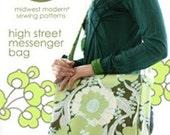 SALE High Street Messenger Bag Amy Butler PATTERN