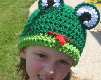 Frog Beanie frog costume photo prop