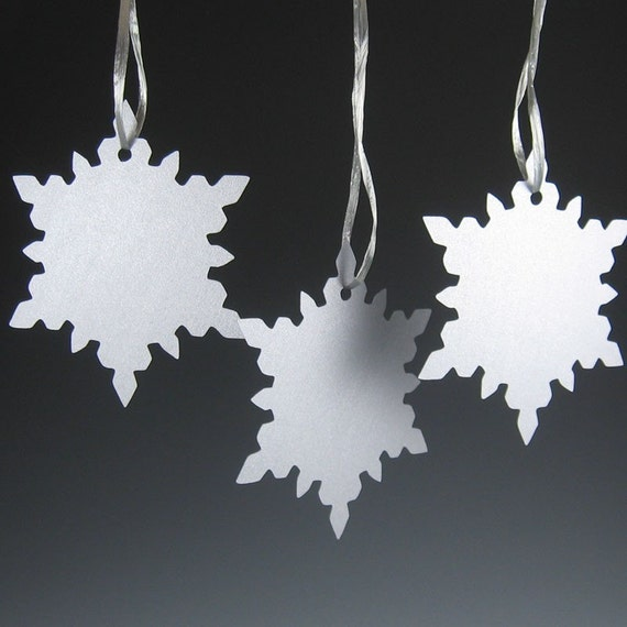 Snowflake Wish Tree Tag - Choice of Color - pack of 120