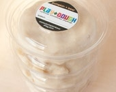 Dye and Fragrance Free Play Dough in Eco-Friendly Compostable Container, 1 Pound