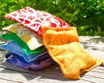 Rainbow Bean Bags, Set of Seven