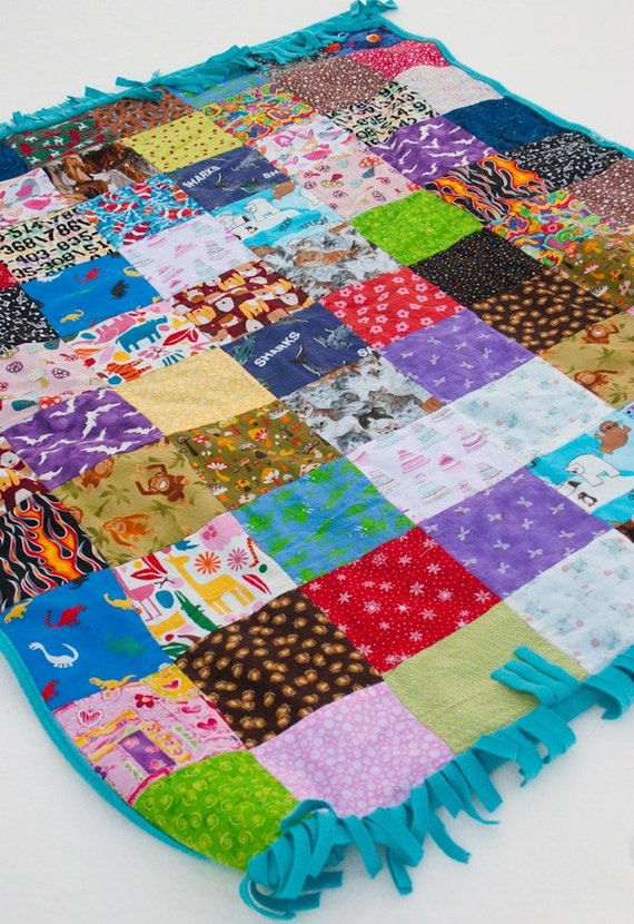 I Spy Matching Game Quilted Blanket