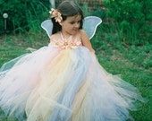 Spring Delight Pixie Tutu Dress - Custom SEWN Tutu Dress - Perfect for Easter Celebrations and Spring Portraits