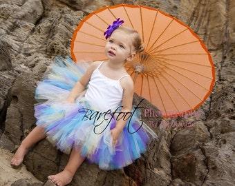 "Girls Tutu - Sewn Tutu - Design Your Own - Custom Tutu - up to 12"" long - sizes Newborn to 5T - Tutu for baby, toddler, child"