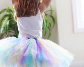 "Girls Tutu - Design Your Own Tutu - Custom SEWN Tutu - up to 12"" long - size Newborn to 5T - Tutus for babies, toddlers, and children"