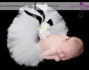 "Baby Tutu Set - Design Your Own Tutu & Headband Set - 6"" Sewn Tutu - sizes newborn to 24 months - 1st Birthdays and Baby Shower Gifts"