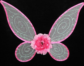 Design Your Own Pixie Wings - Handmade Fairy Wings - very sturdy to last for many years of play