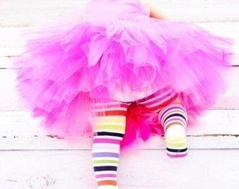 "Pink Tutu, Hot Pink Tutu, Fuchsia Pink Tutu, Passion for Pink, 10"" Tutu, Girls Tutu, Birthday Tutu, Cake Smash Tutu, Flower Girl Tutu, Tutus"