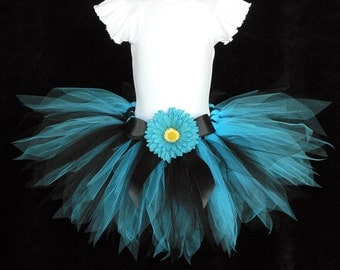 Punk Rock Pixie Tutu - Design Your Own - you choose colors - 11 inch petite pixie tutu - Custom SEWN Tutu