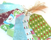SALE HALF OFF AND FREE SHIPPING Christmas Gift Tags (bundle of 10 assorted hang tags)