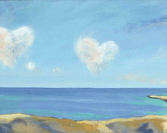 Love Clouds blank card