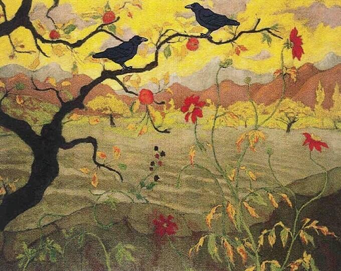 Vineyard Ravens notecard