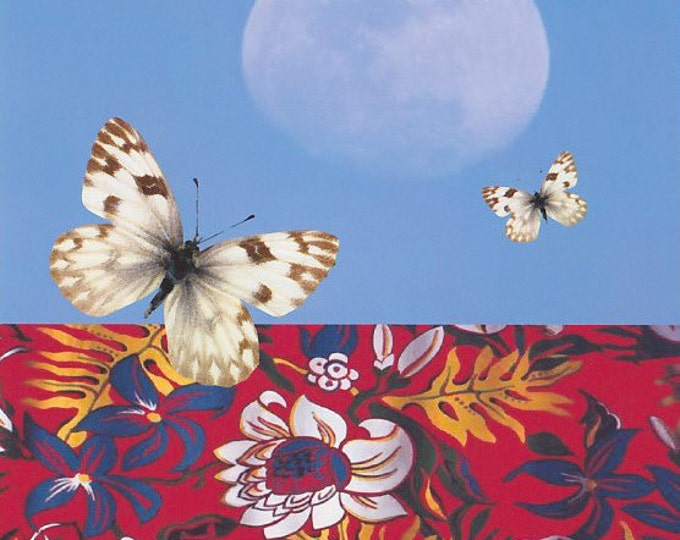 The Pull of the Mooncollage greeting card
