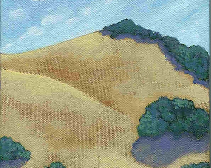 Valley no. 1 blank greeting card California