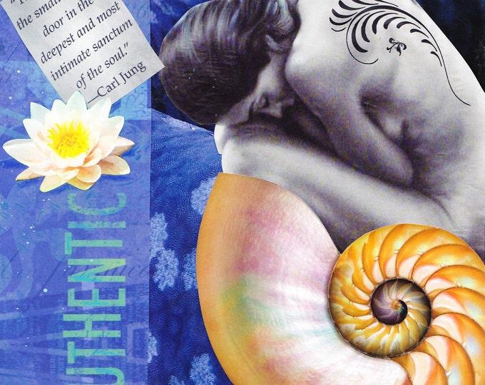 Authentic Dream collage art print