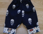 Skull and Tattoo Pants - 9/12M - SALE