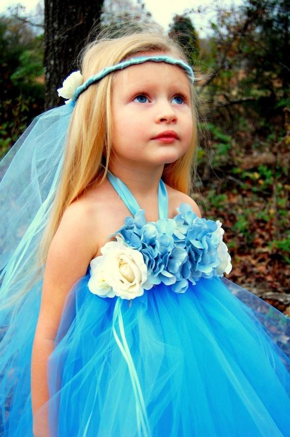 Custom Boutique The Blue Cinderella Fairy Tutu Dress