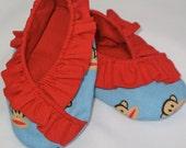 Ruffled Kimono Booties - 2 Styles - 0-24 months - PDF Tutorial & Pattern