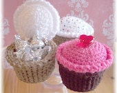 Crochet Surprise Cupcakes...PDF Pattern