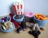 Junk Food...PDF Crochet Pattern