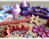 Princess Accessories...PDF Crochet Pattern