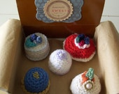 Crochet Sweets in Bakery Box....set 2