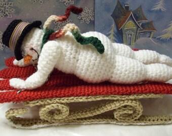 Fun in the Snow...PDF Crochet Pattern