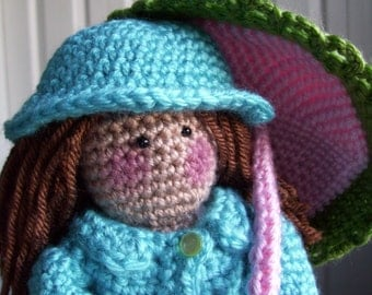 Bella Ann... crochet doll PDF pattern