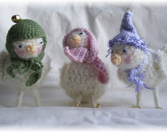 Snow Birds....PDF Crochet Pattern