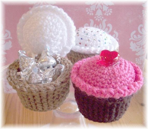 Crochet Surprise Cupcakes...PDF Pattern