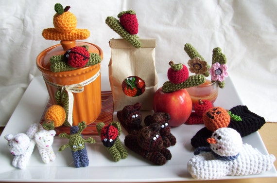 Clothespin Pals...PDF Crochet Pattern