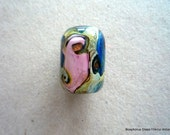 LAMPWORK GLASS FOCAL BEAD - Organic III - FREE SHIPPING for any additional Items.