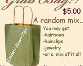 GRAB BAG- FREE GIFT WITH PURCHASE