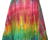 Multicolor Wrapping Skirt