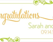 Wedding Banner 24 by 60