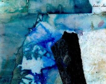 Remembrance - Original Contemporary Modern Mixed Media art EBSQ