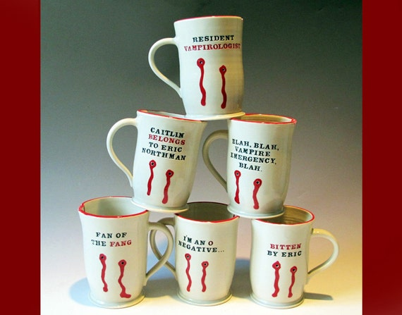 True Blood Coffee Cups mugs
