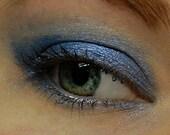 BEAUTY BARGAIN Sale . Pastel Blue Eyeshadow . DELPHINIUM (123) Mineral Eye Shadow - Sky Blue Eye Shadow - Large 10 gram Jar
