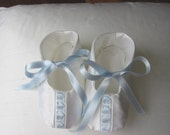 Baby Booties, Christening Gift, Baptism Gift